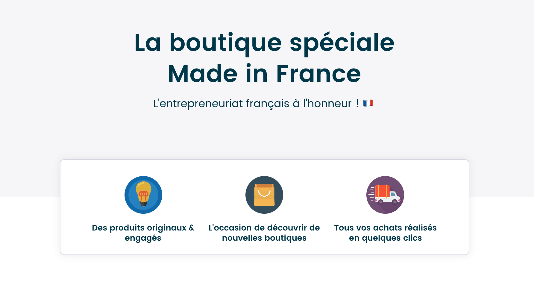 Boutique Made in France