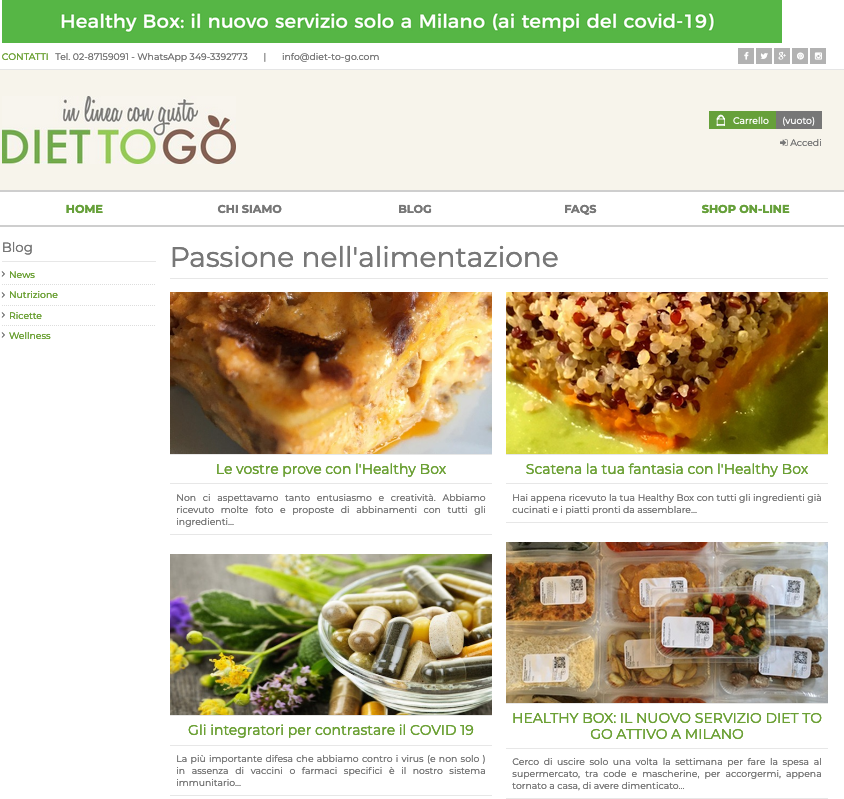 blog diet to go