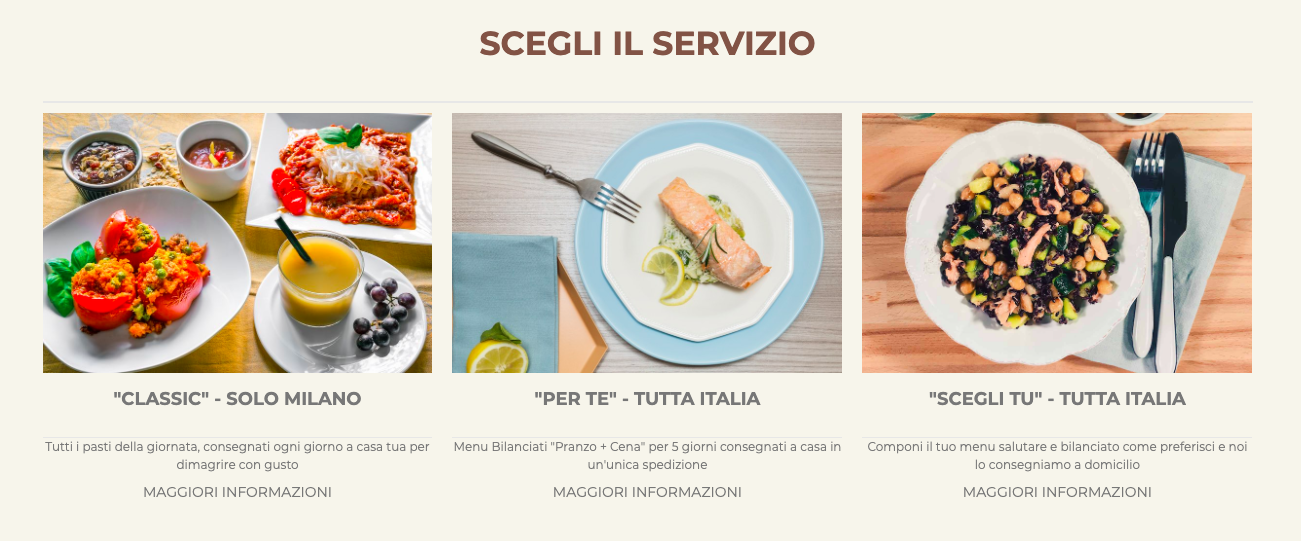 Offerta Diet-To-Go