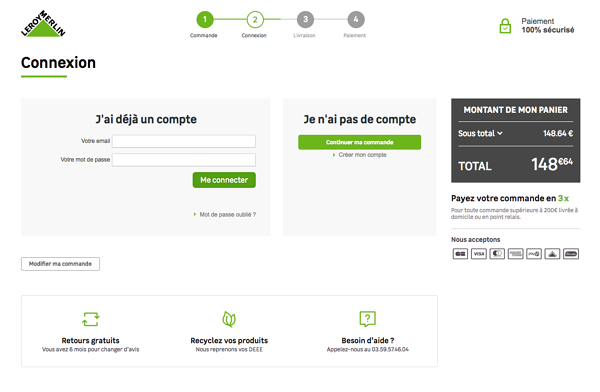 Navigation fluide en e-commerce